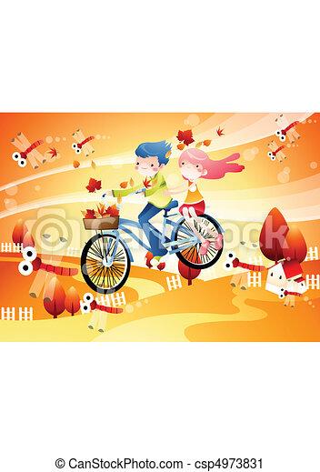Autumn and Festival - csp4973831