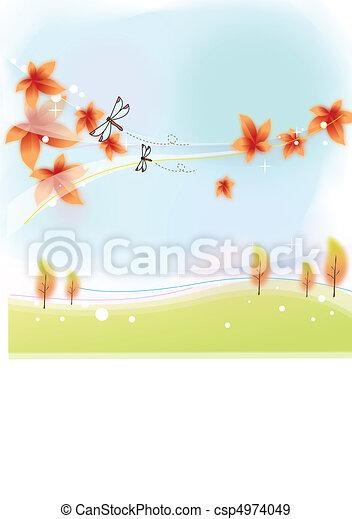 Autumn Story - csp4974049