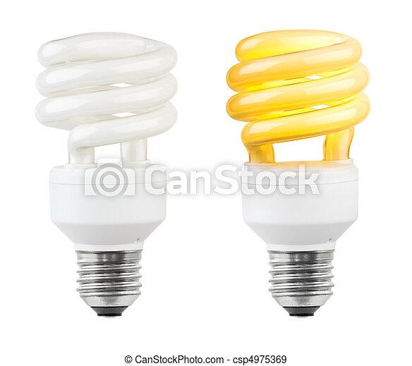 Lighting low-energy lamp - csp4975369