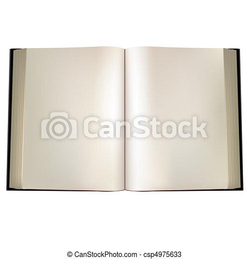 Open book - csp4975633
