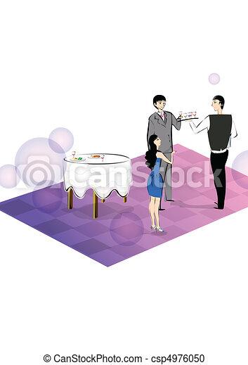 party, pleasure, happy Time - csp4976050