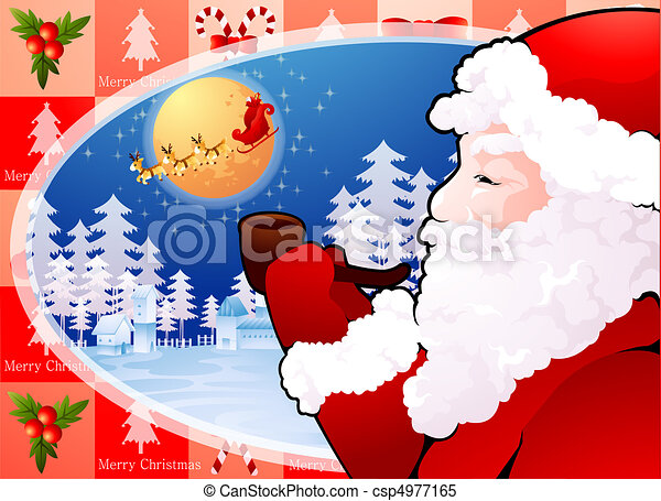 X-Mas & New Year - csp4977165