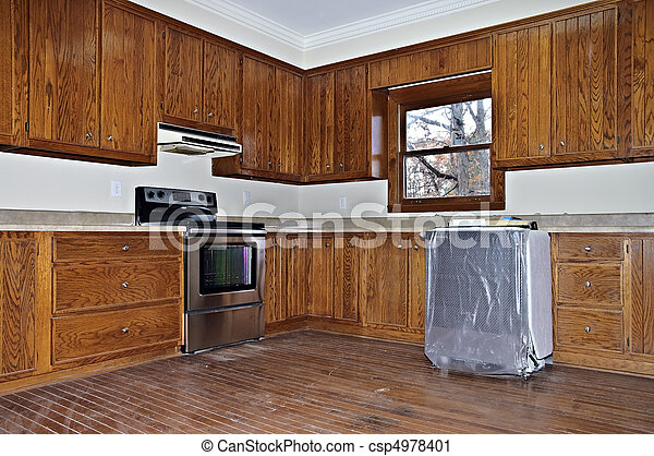 A Kitchen Remodel - csp4978401