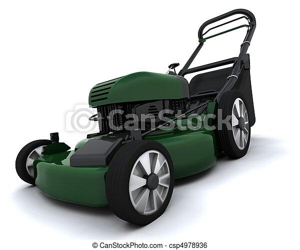 lawn mower - csp4978936