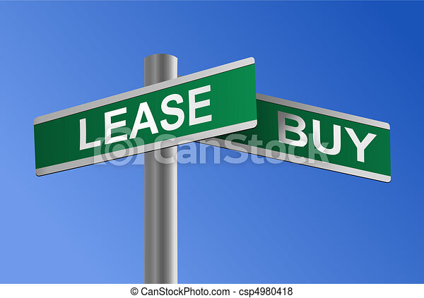 Buy or Lease Crossroads Vector - csp4980418