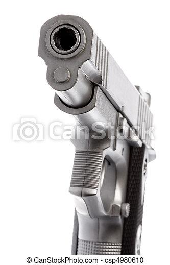 Toy Gun Isolated - csp4980610