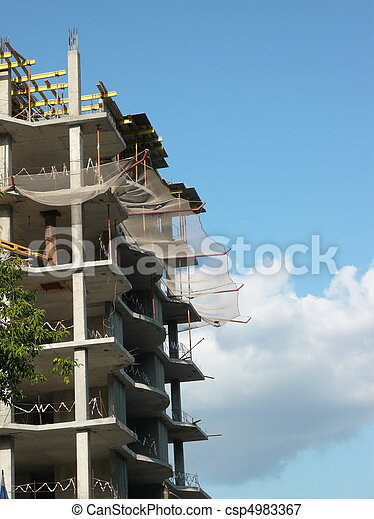 house develop at day - csp4983367