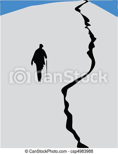 man climb - csp4983988