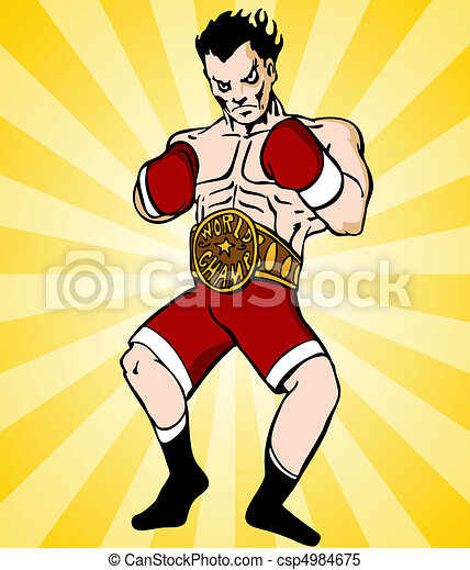 Boxing Champion - csp4984675