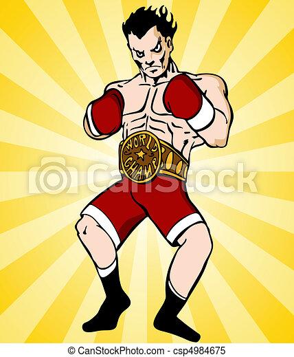 Boxing Champion - csp4984675