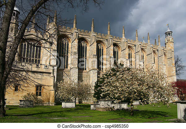 Eton College Chapel, Windsor - csp4985350