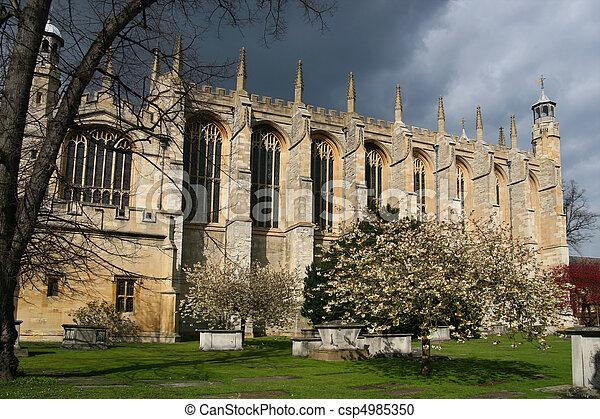 Eton College Chapel, Windsor - csp4985350