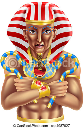 Egyptian avatar - csp4987027