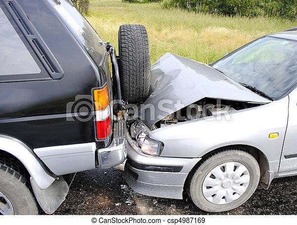 car accident - csp4987169