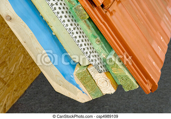 stock fotografien von thermal isolierung haus dach csp4989109 suchen sie stock fotografie. Black Bedroom Furniture Sets. Home Design Ideas