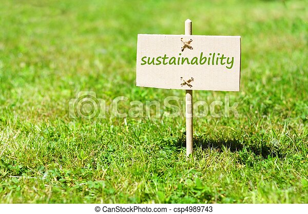 sustainability - csp4989743