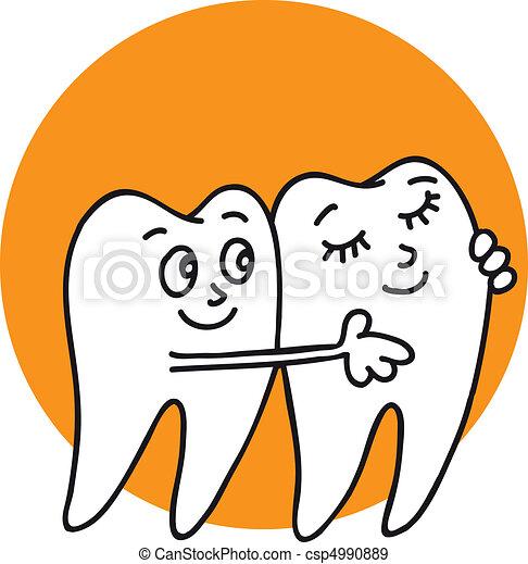 Teeth - csp4990889