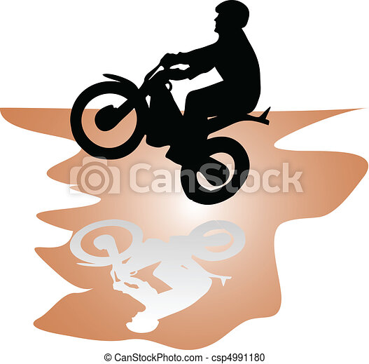 moto rider - csp4991180
