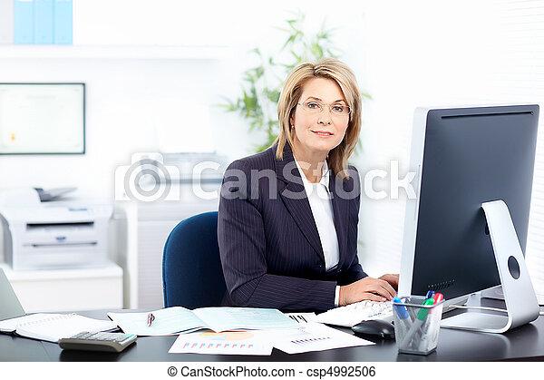 businesswoman  - csp4992506