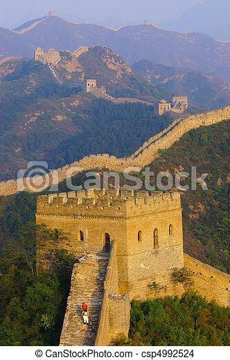 Great Wall of China - csp4992524
