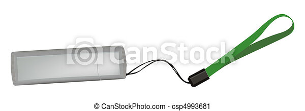 The mobile USB flash drive memory - csp4993681