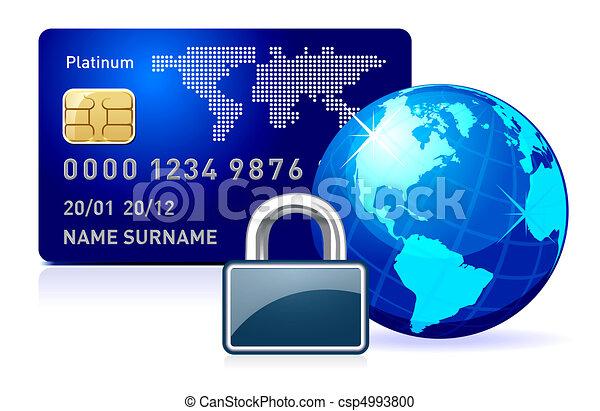 secure online payment. - csp4993800