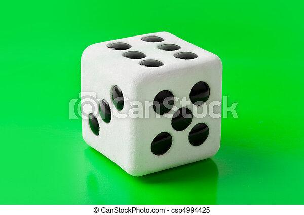 Gambling dice - csp4994425