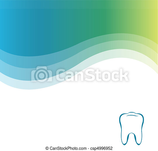 Dental Green Background - csp4996952