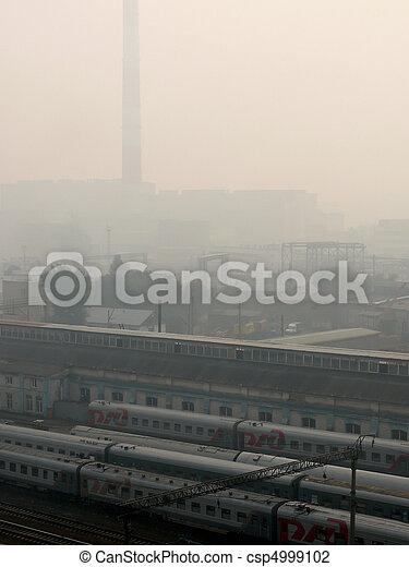 Smog. City.  - csp4999102