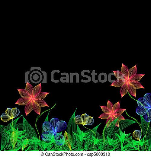 Fantasy flowers - csp5000310