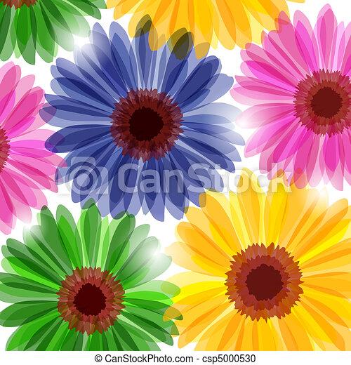 Fantasy floral background - csp5000530