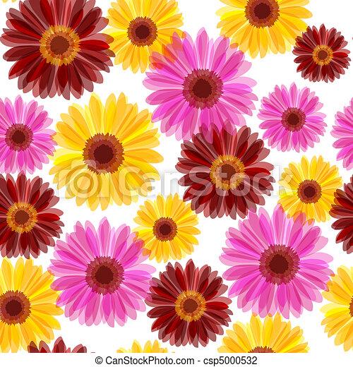 Daisy seamless - csp5000532