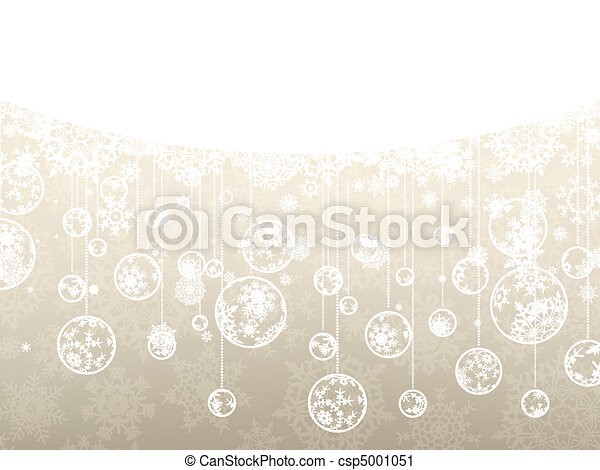 Elegant christmas background. EPS 8 - csp5001051