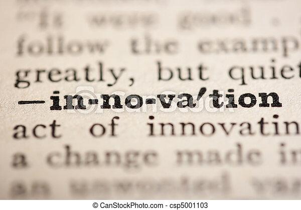 Word innovation - csp5001103
