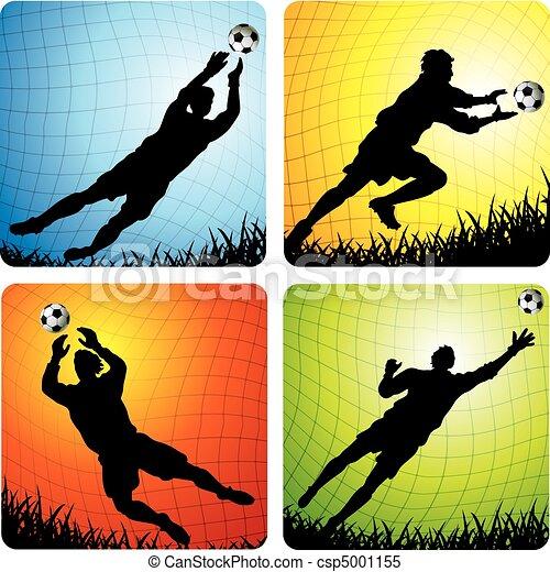 Soccer Goalkeepers - csp5001155