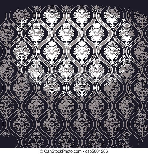 vector illuminated fabric wallpaper - csp5001266