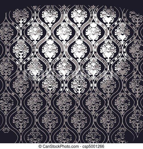 vector illuminated fabric wallpaper - csp5001266
