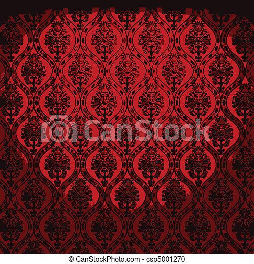 vector illuminated fabric wallpaper - csp5001270