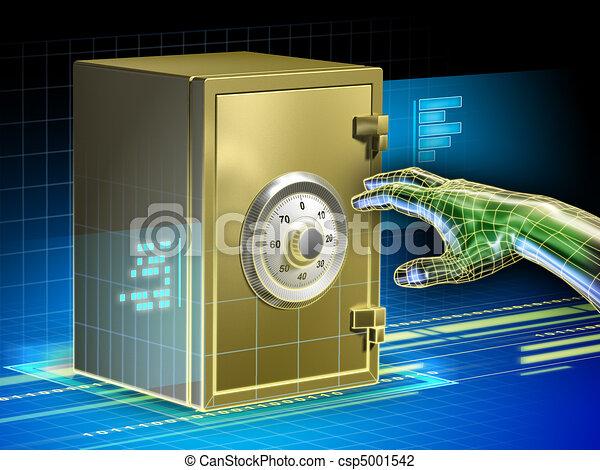 Digital data safety - csp5001542