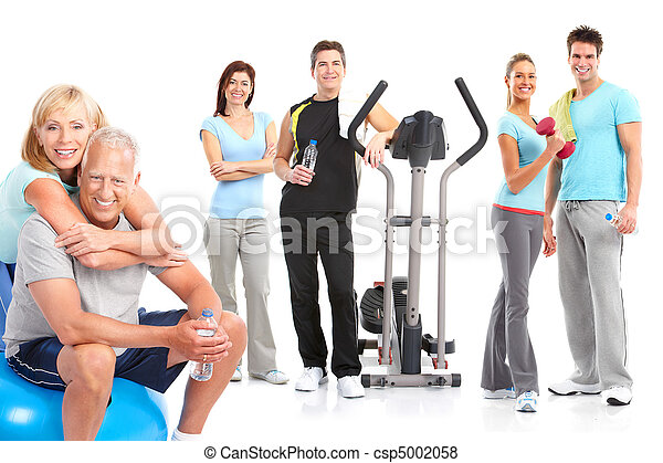 Gym, Fitness, healthy lifestyle - csp5002058