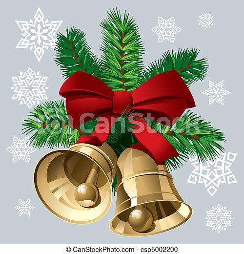 vektor clipart von weihnachten glocken weihnachten. Black Bedroom Furniture Sets. Home Design Ideas
