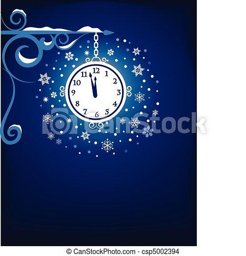 Mystic old clock - csp5002394