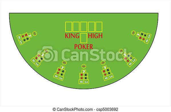 Clip Art Poker Table
