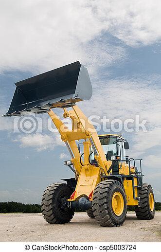 front end loader machine - csp5003724
