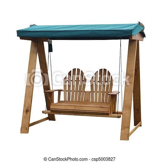 Im genes de de madera columpio jard n asiento de - Columpio madera jardin ...