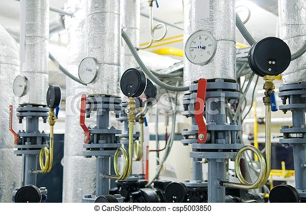 gas boiler room equipment - csp5003850