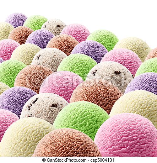 ice cream scoops - csp5004131