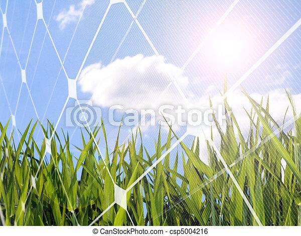 Solar energy concept - csp5004216