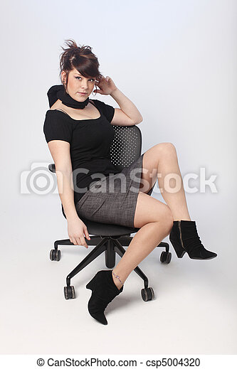 Sexy young woman  - csp5004320