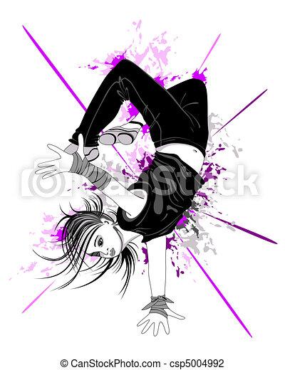 dancing boy - csp5004992